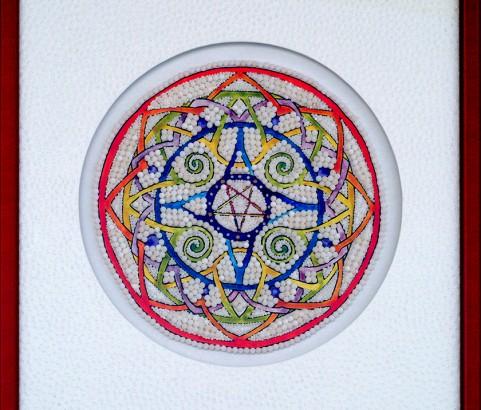 Mandala Pentagram 2585