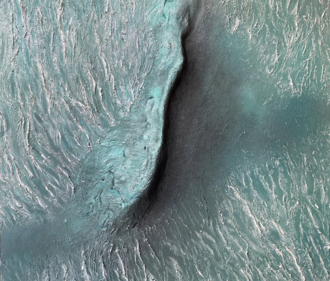 Mars - Dune, cratère Proctor